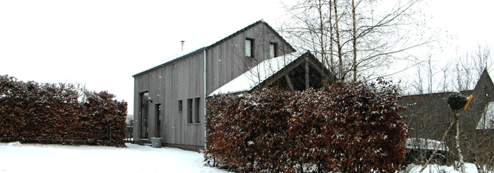Bonnevue in de sneeuw
